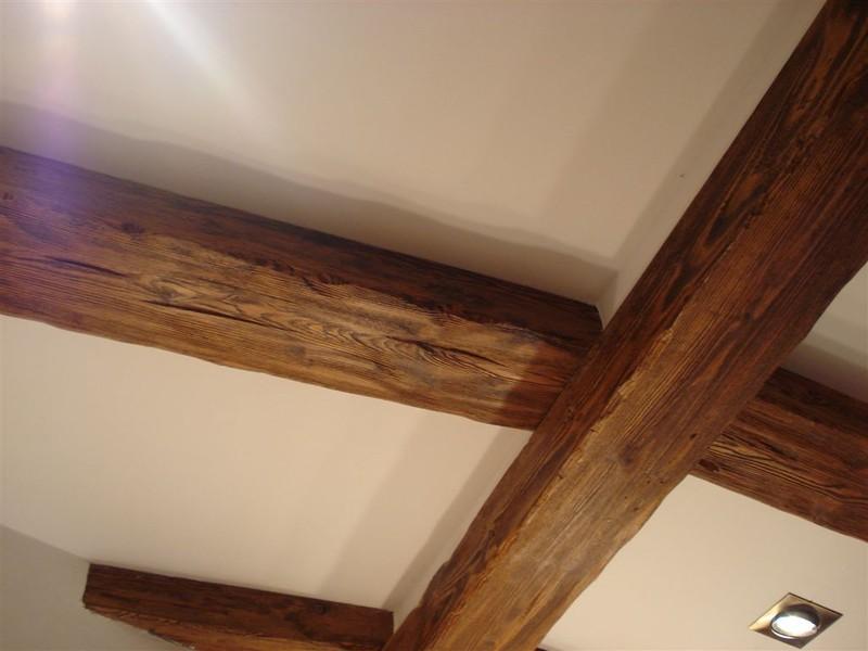 Carpintería Tórtola - Vigas y techos